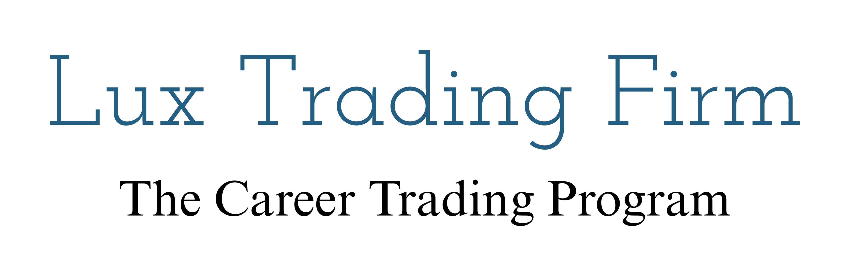 Lux Trading prop trading firm logo